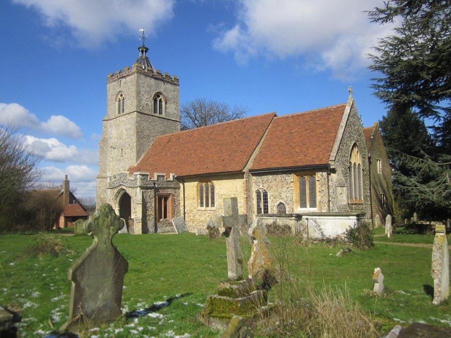 All Saints Church Little Cornard