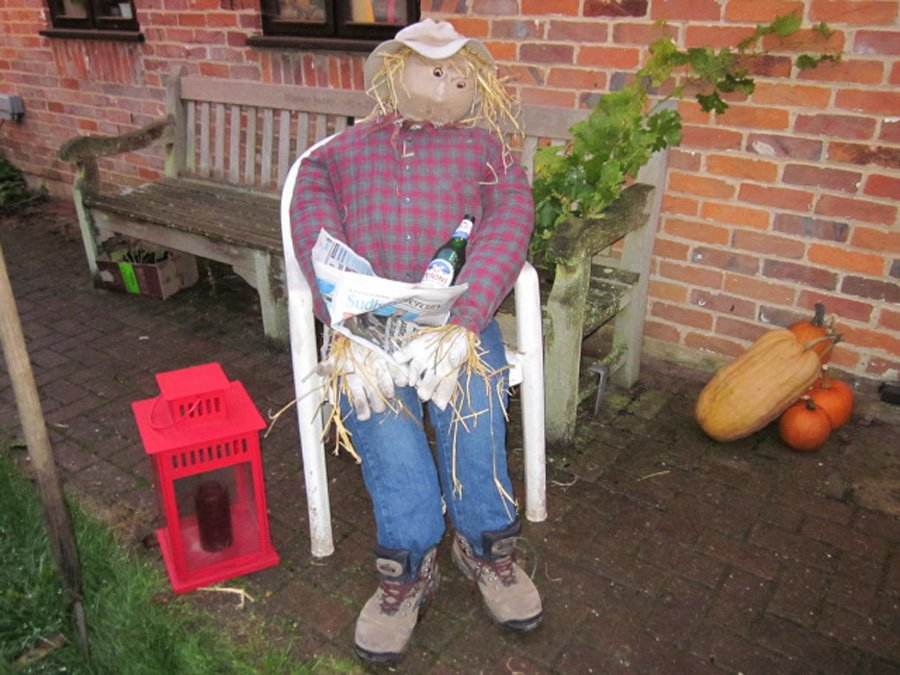 Harvest Supper Scarecrow