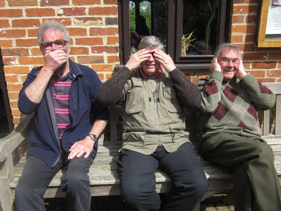 Churchyard Working Party - Speak No Evil, See No Evil, Hear No Evil!