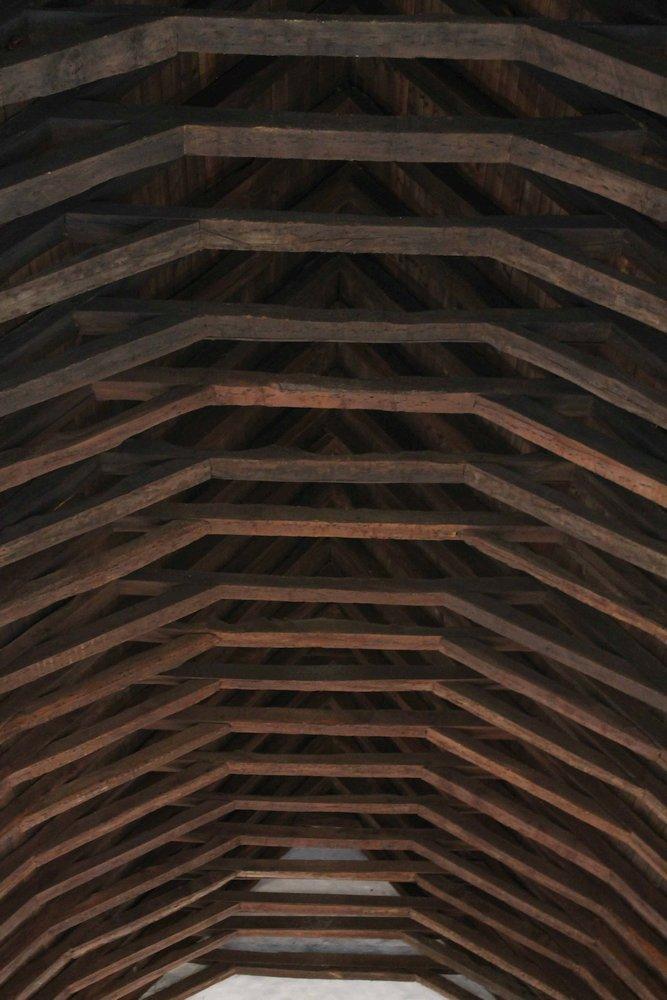 Little Cornard Church Roof Timbers