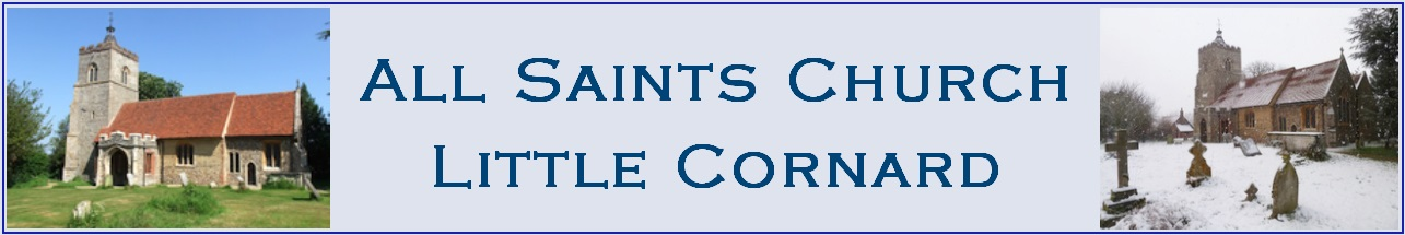 All Saints Church, Little Cornard logo